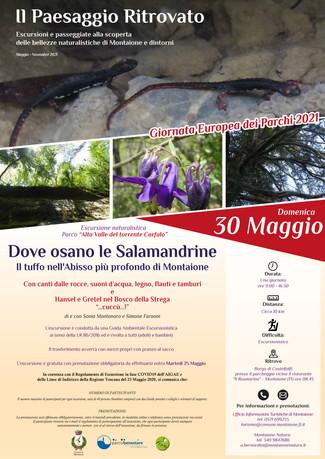 Domenica 30 Maggio 2021, Hansel e Gretel nei boschi del Carfalo (Montaione -FI)