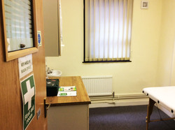 The First Aid Room