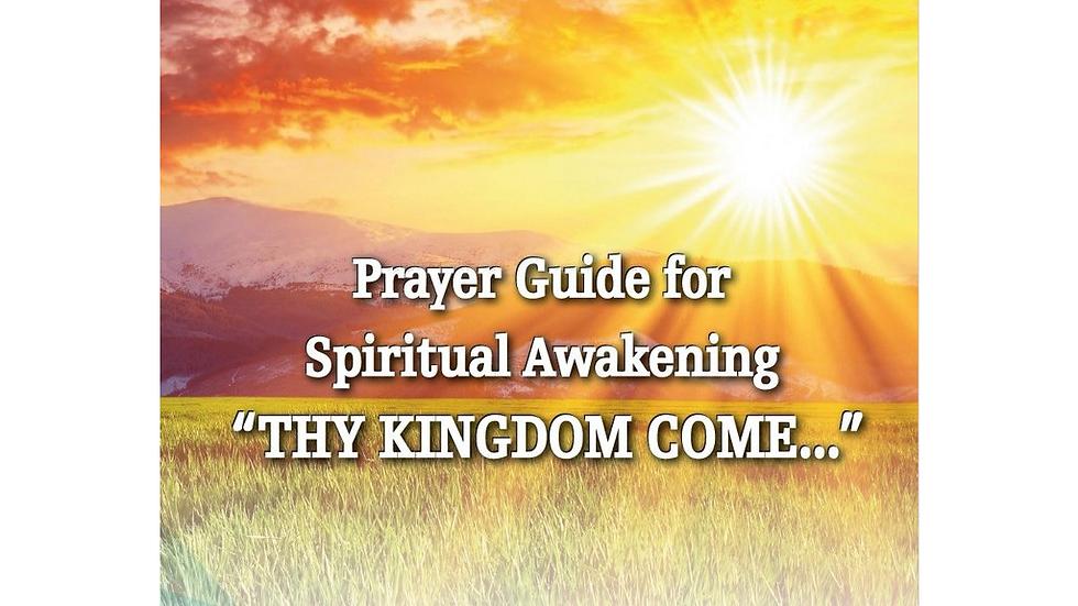 Spiritual Awakening Prayer Guide