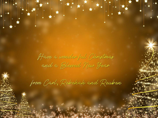 Have a Blessed Christmas & New Year