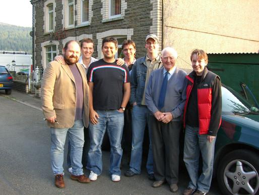 Honouring the influencers Rev. Len Sparks