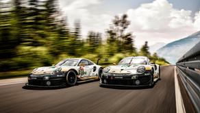 Porsche lucirá colores especiales en las 24 Horas de Le Mans