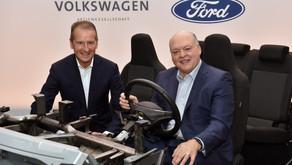 Ford y Volkswagen amplían su colaboración global para avanzar en conducción autónoma