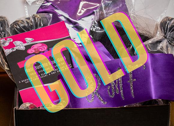 RMF Gold Hair Box