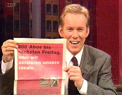 Johannes B. Kerner, ZDF