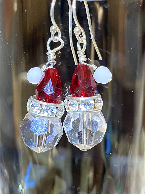 Santa (head) Earrings