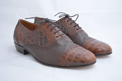 Size 47 Brown Classic Leather Sole