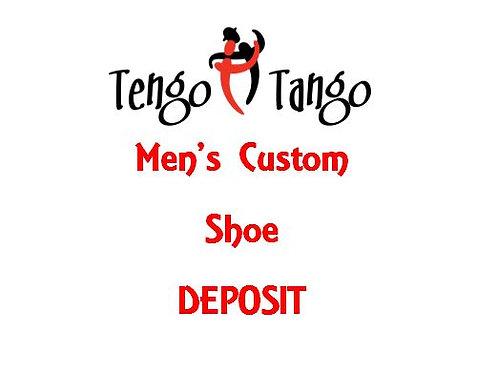 Men's Custom Shoe Deposit