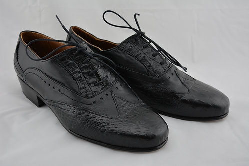 Black Classic Leather Sole