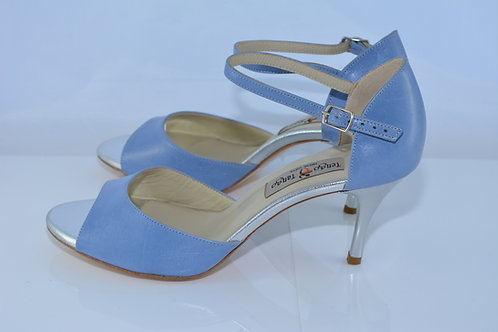 Size 39 Periwinkle Band Sandal 7cm Heel (S)