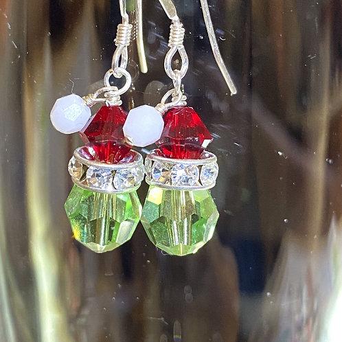 Grinch or Elf (head) Earrings