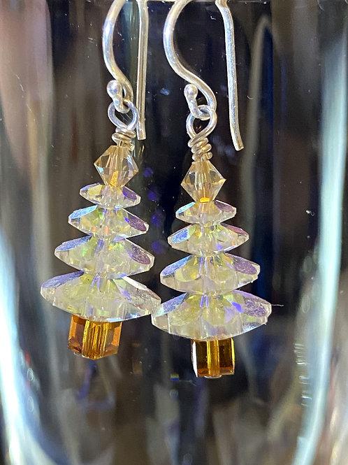 Snow tree Earrings