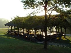 Pavilion at Sunrise