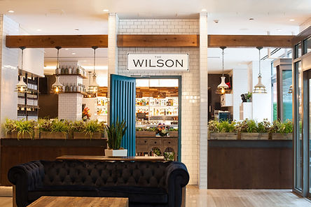 The Wilson NYC – a new and upper-class neighbourhood bar and restaurant that features a worldly seafood-focused menu created by Chef Stephany Burgos.