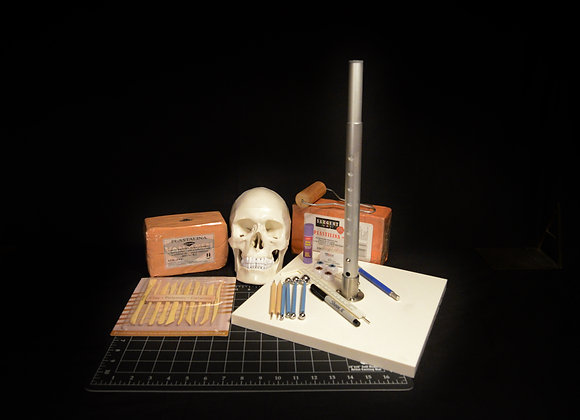 PRO KIT - Professional Forensic Reconstructive Kit (Adjustable Base)