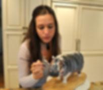 Melissa Alt Cakes sculpting hippo cake