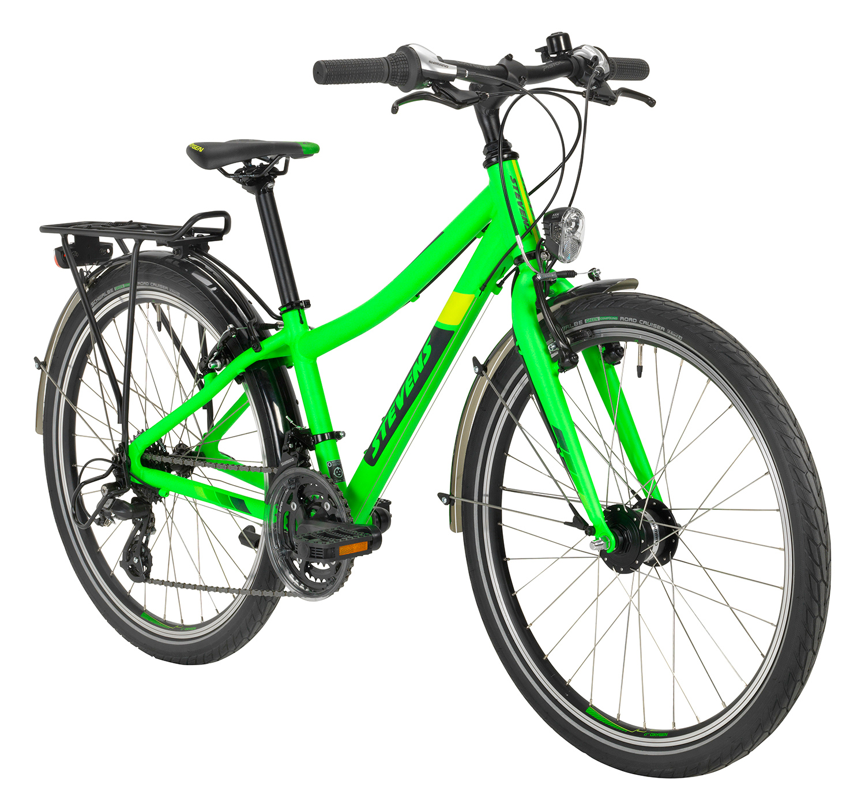 """Stevens Tour 24"""" neon green"""