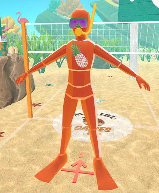 Orange Avatar (Front)