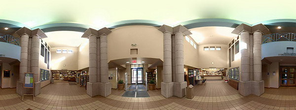 360 footage I stitched that was shot at a local library.