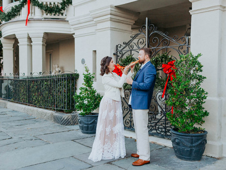 DOWNTOWN CHARLESTON ENGAGEMENT // ZOE + CHRIS