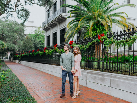 CHARMING SAVANNAH ENGAGEMENT // SAMANTHA + WILLIAM