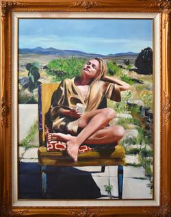 (SOLD) Woman in Desert