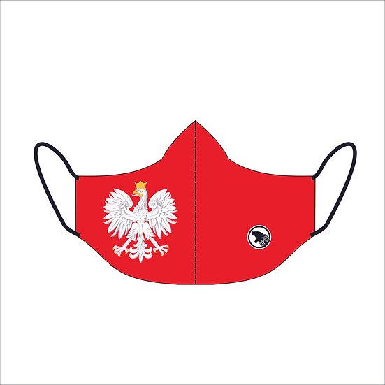 Maseczka Fullprint Patriotic