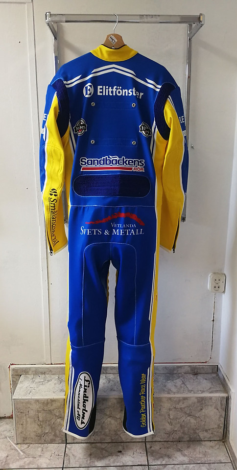 Magnus Karlsson Vetlanda Team Suit 2018