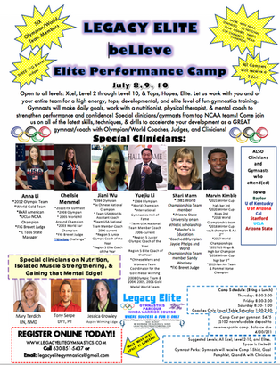 beLIeve Elite Performance Camp