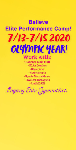 Competitive Team Summer Camp!!