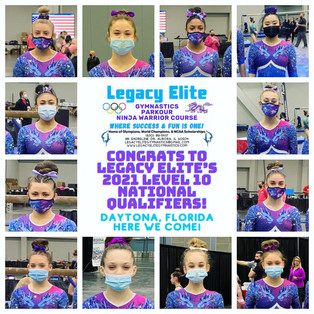 18  NATIONAL QUALIFIERS!