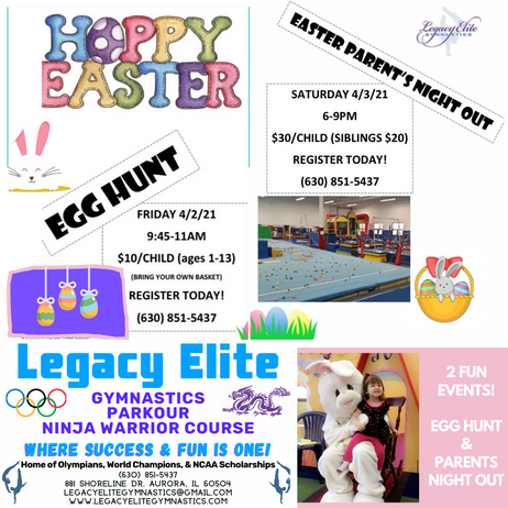 2 FUN EASTER EVENTS!