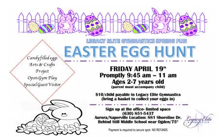 Easter Egg Hunt!!