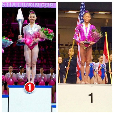 Legacy takes 1st place in 2016 Nastia Liukin Cup and 2016 Gymnix Junior Cup