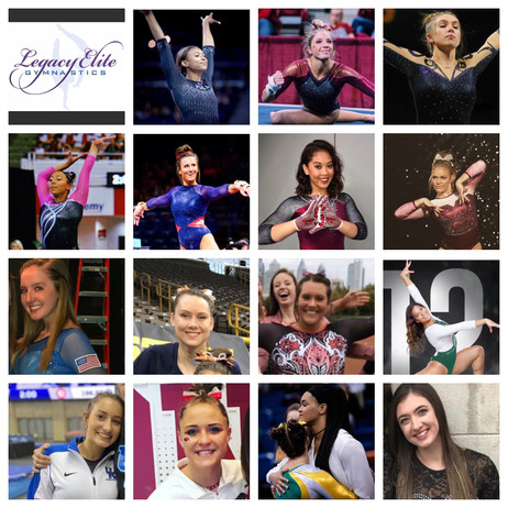 Good Luck to15 Legacy Elite Alumni competing in the NCAA!!