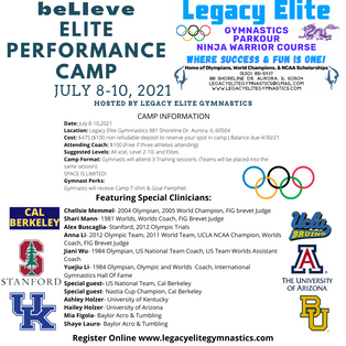beLIeve Elite Performance Camp