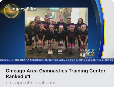 Did you catch us onCBS?
