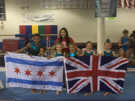 International Gymnasts & Teams come to Legacy Elite!