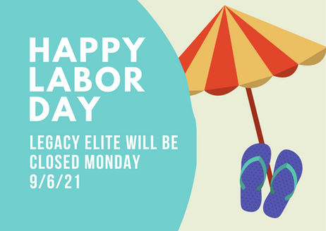 Closed Labor Day!