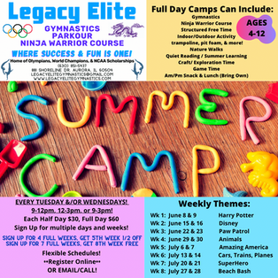 4 Summer Camps!