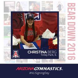 Christina Berg- U of Arizona