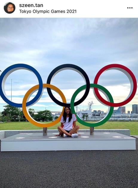Tokyo Olympics- Good Luck SzeEn