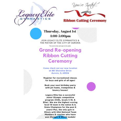 Free Event: Ribbon Cutting Ceremony!
