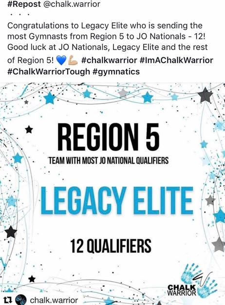 TWENTY!! 2017National Qualifiers!!
