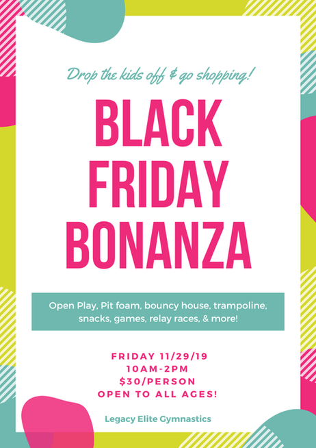 Black Friday Bonanza!
