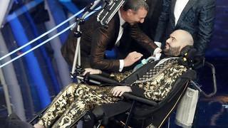 """Sanremo: al 70° Festival brilla la stella della """"resilienza"""" di Paolo"""