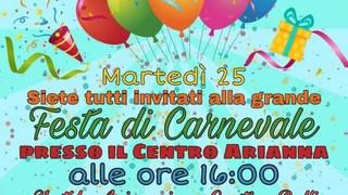 Tortora: é festa al Centro Arianna, il Carnevale 2020