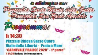 Praia: carnevale praiese lunedì 24 febbraio