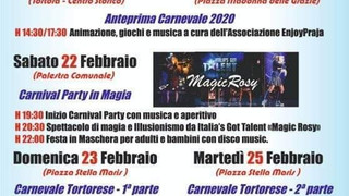 Tortora: carnevale 2020 con ENJOY Praia
