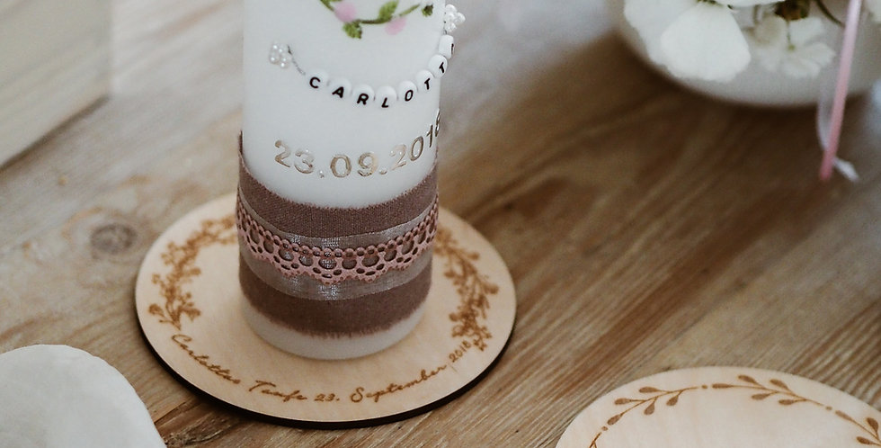Kerzenuntersetzer